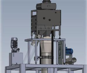 sistema di riempimento automatico per Big Bag BBU20